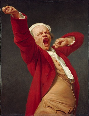 Joseph Ducreux Pandiculating from Wikimedia